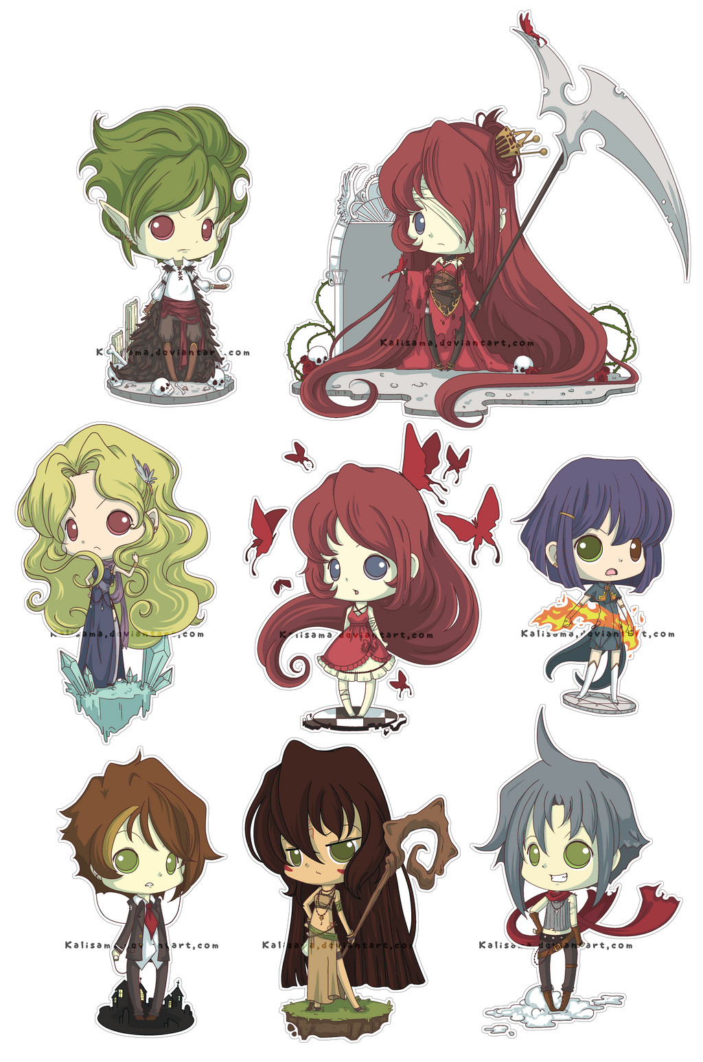 Alter Ego Chibi Set by Kalisama