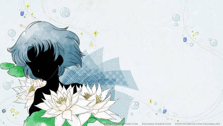 SM Crystal Mizno Ami Title Screen