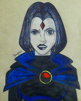 Confused Raven (Teen Titans)