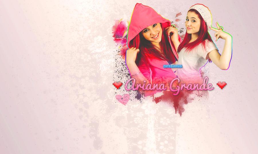 Ariana Grande Wallpaper By CuteBunny01