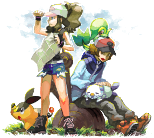 Pokemon Black/White 2 | Shizomarux by shizomarux