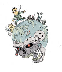 Terminator 2029 doo do do dado by royalboiler