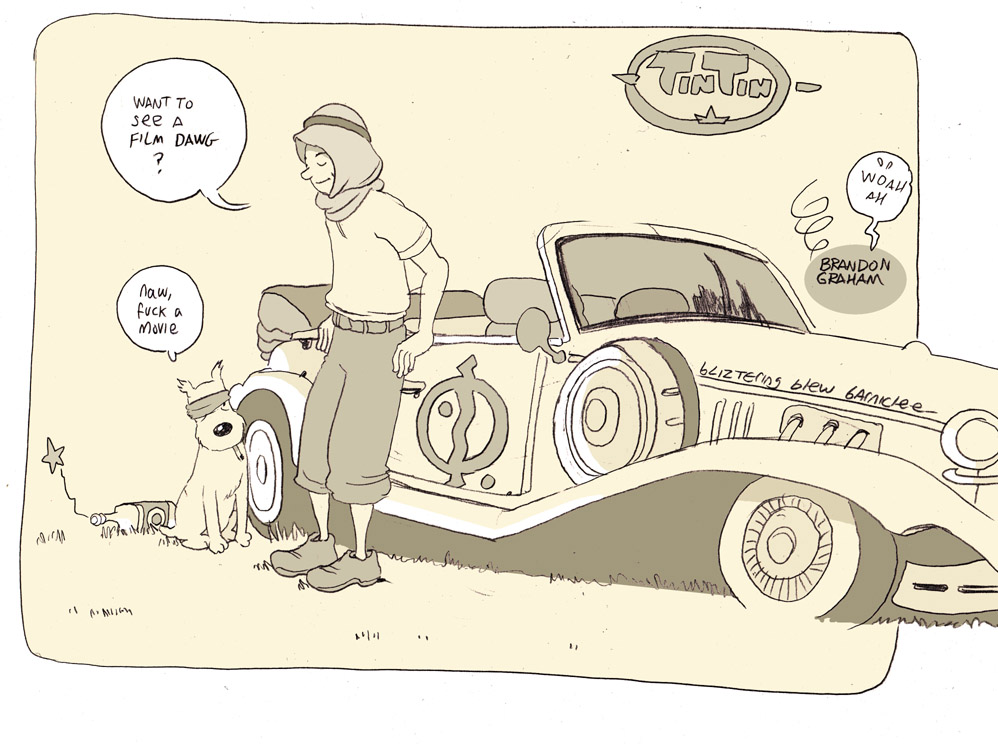 tintin dawg by royalboiler