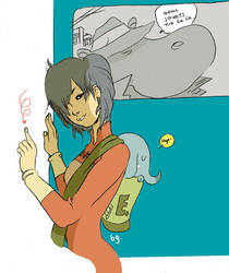Miki and the Elephantmang