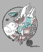 Gaiman shirt front by royalboiler
