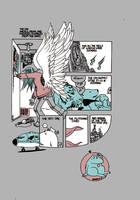 Gaiman shirt back by royalboiler
