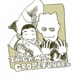 ThighMan and Gropefunkel by royalboiler