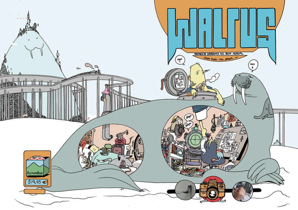 Walrus by royalboiler