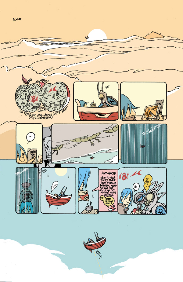 Nura's morning. by royalboiler