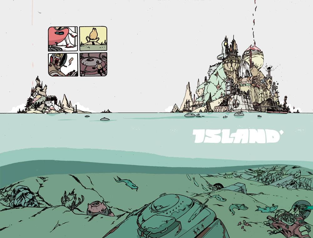Island magazine #1 by royalboiler