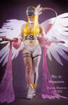 Angewomon from Digimon Adventure [fullbody] by AHu-PL