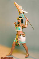 Pharaoh Nidalee cosplay preview