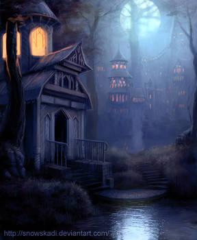 Elven Town  - night version