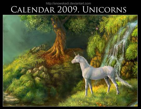 Unicorn Calendar 2009