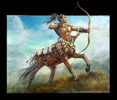 centaur by SnowSkadi