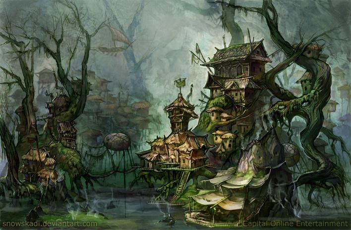 Swamp by SnowSkadi