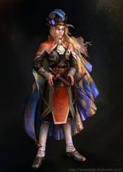 Captain 1 by SnowSkadi