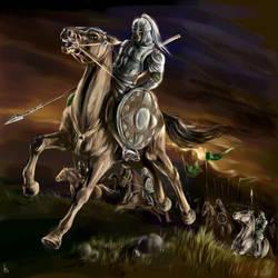 The Riders of Rohan by SnowSkadi
