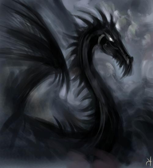 murderous red dragon