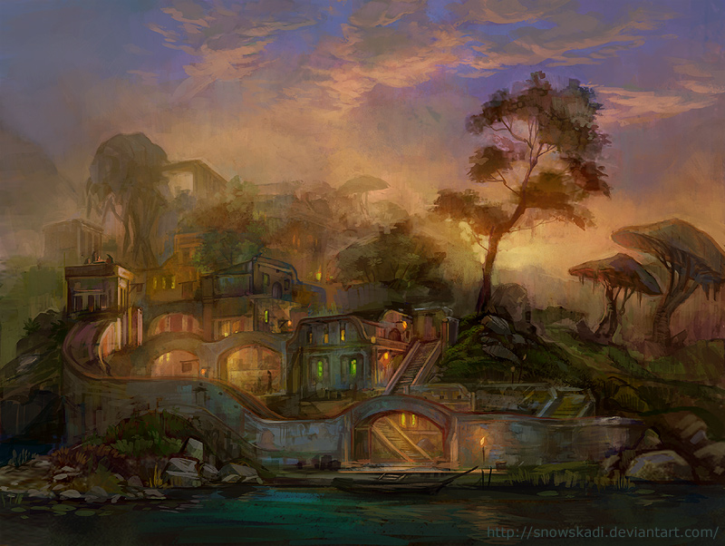 Ascadian Isles by SnowSkadi