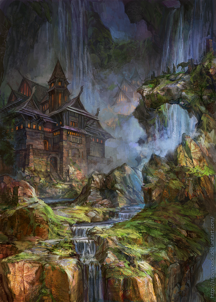 Waterfalls by SnowSkadi
