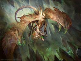 Blind Dragon by SnowSkadi