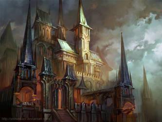 Metal Castle by SnowSkadi