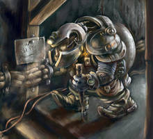 The miner by SnowSkadi