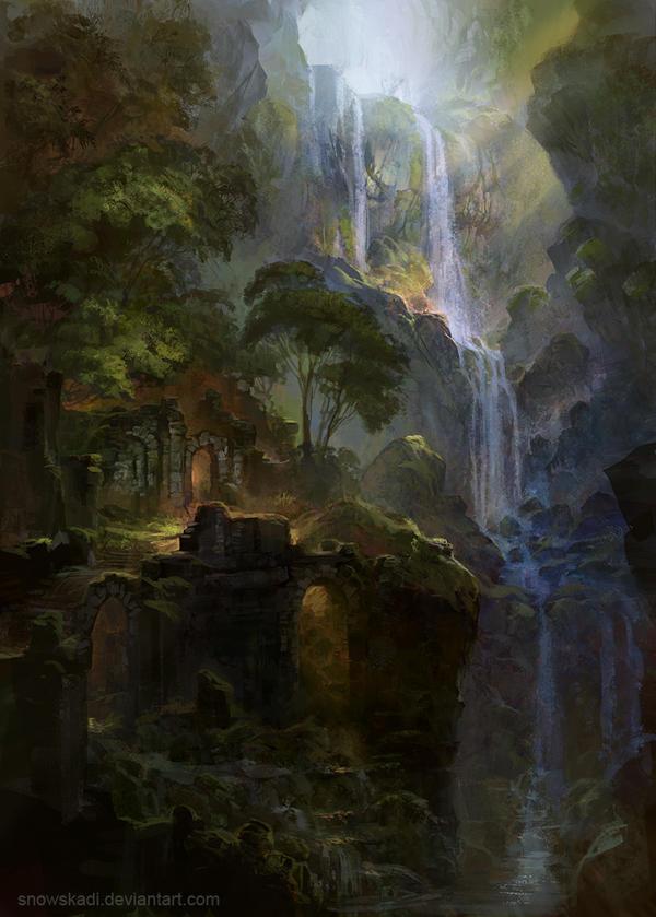 Ruins by SnowSkadi
