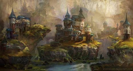 Islands by SnowSkadi