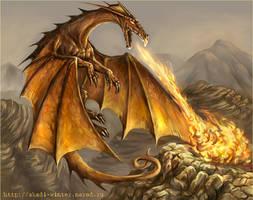 Red Dragon by SnowSkadi