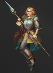 Knight by SnowSkadi