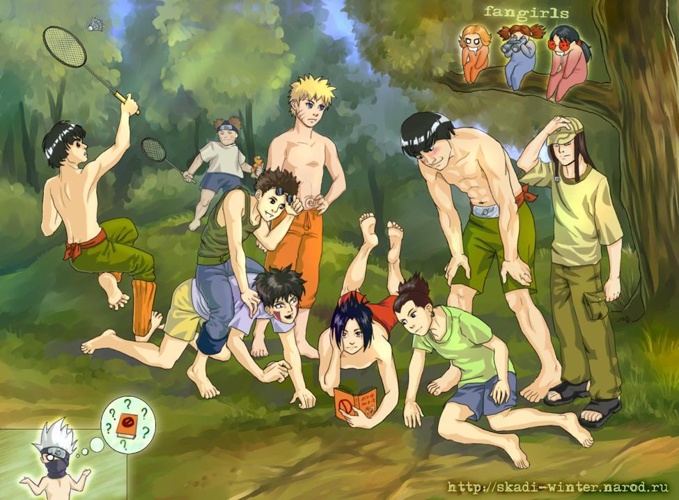 Naruto - Lost 'Paradise' by SnowSkadi
