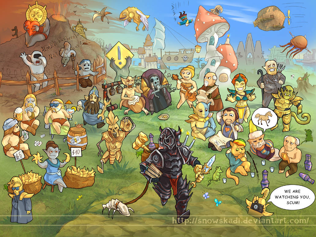 Morrowind days by SnowSkadi