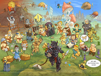 Morrowind days by SnowSkadi