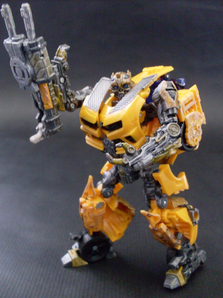 DOTM Nitro Bumblebee repaint by i---D---i on DeviantArt