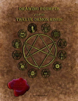 Drawing Prompts with the Twelve Demon Rings