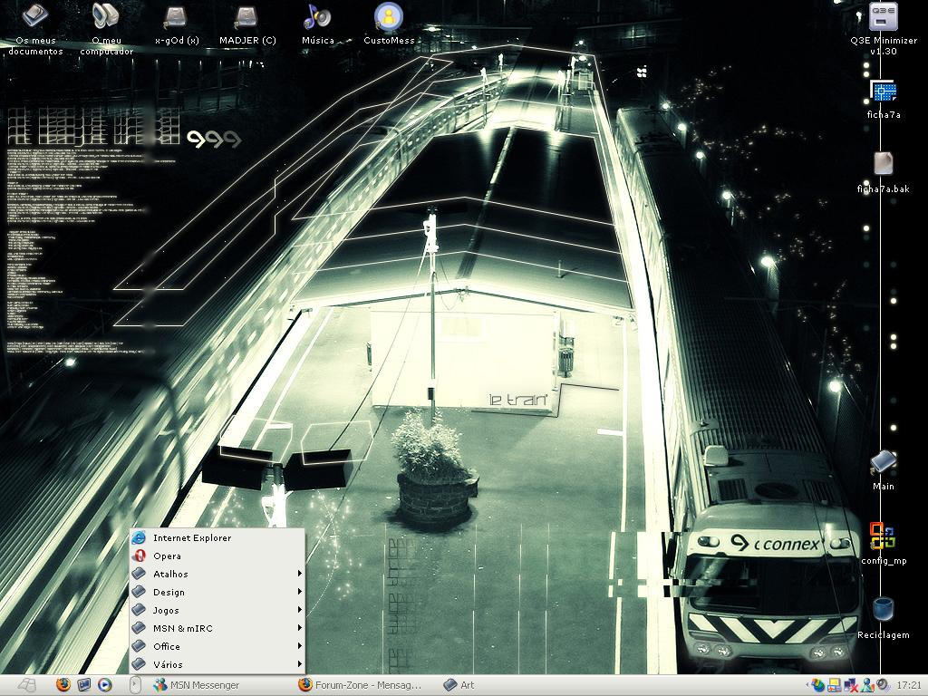 Desktop .01 by x-gOd