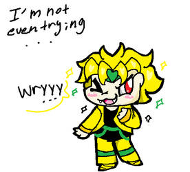 A Dio I Drew in MS Paint Earlier.