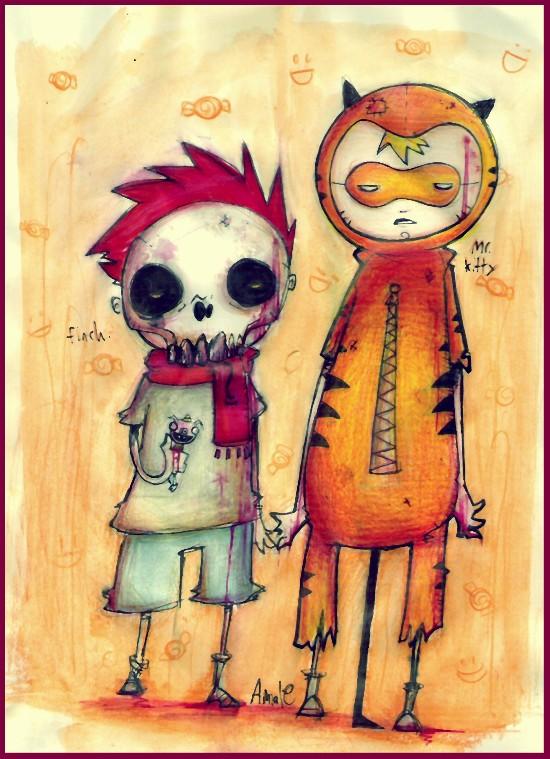 I luv halloween by inkylinkyboooo