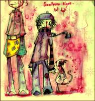 Of yellow and sympathy by inkylinkyboooo