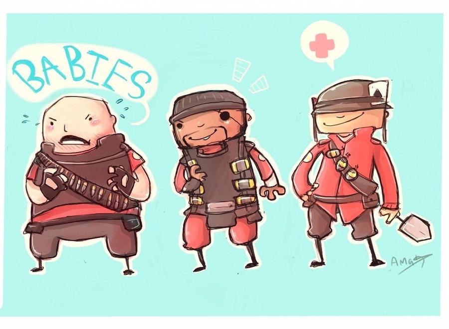 BABIES by inkylinkyboooo