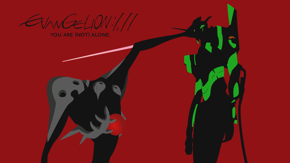 Evangelion 111 You Are Not Alone Wallpaper by Zing007 on