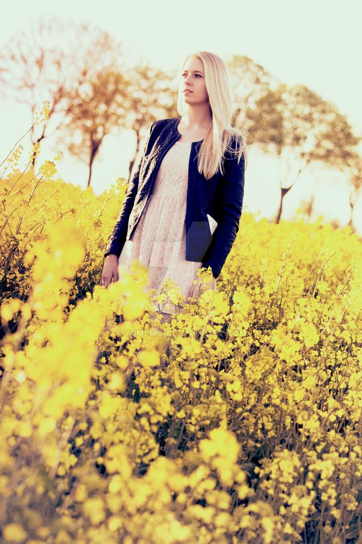 Yellow Ocean by Yumi-mo