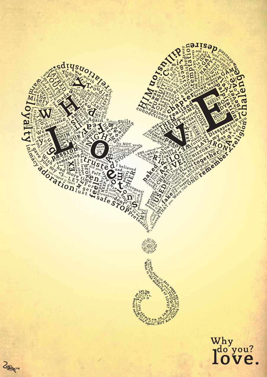 Love Typography by Lumzor
