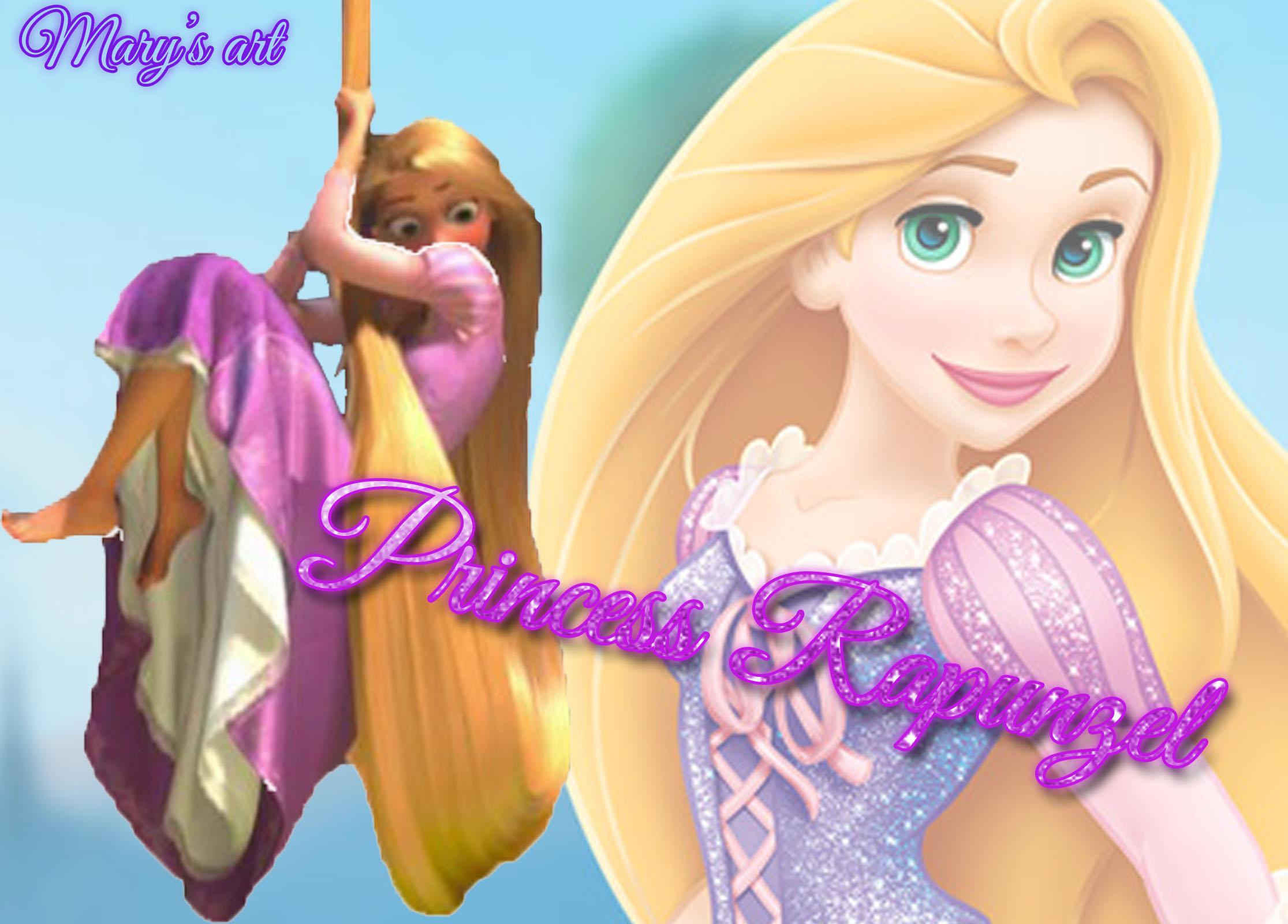 Disney Princess Rapunzel Wallpaper