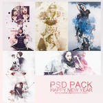 PSD PACK HAPPY NEW YEAR