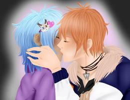 That first kiss by cassybabyfur