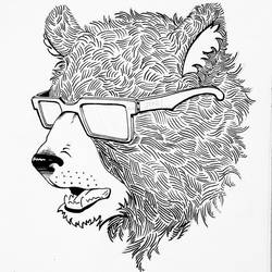 Bear Illustration (Logo) by Geekatron1100