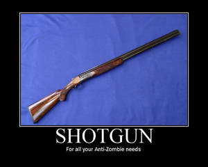 Shotgun Zombie Motivator